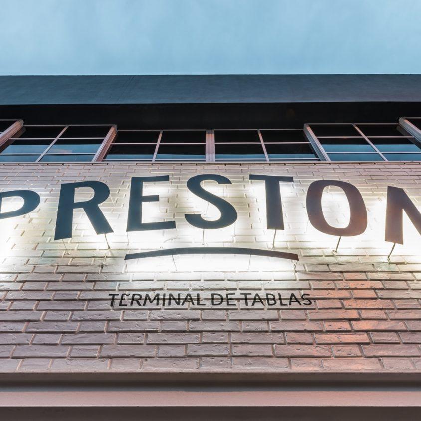 Preston, terminal de tablas. 3