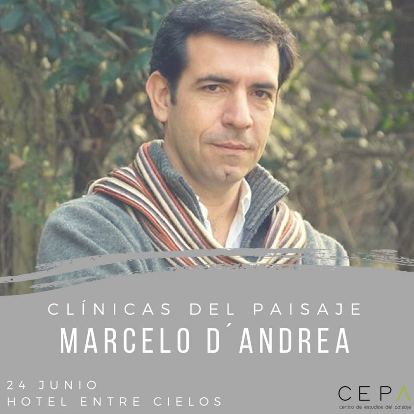 Marcelo D`Andrea presente en la primera Clínica del Paisaje. 1