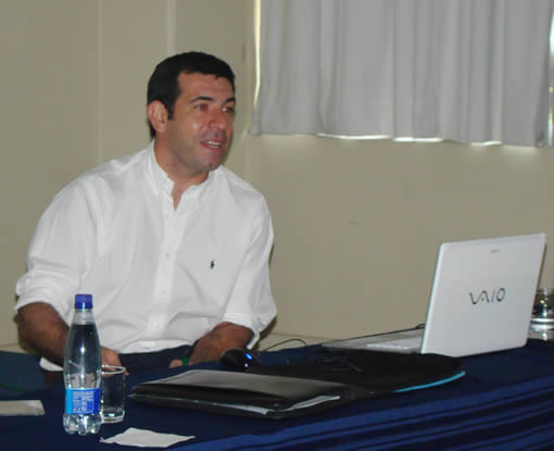Marcelo D`Andrea presente en la primera Clínica del Paisaje. 3