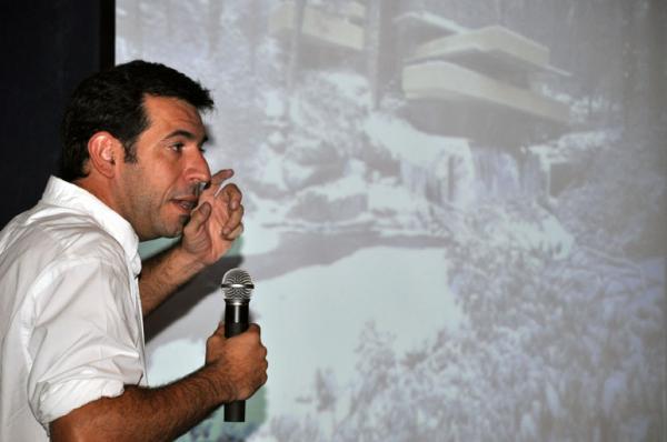 Marcelo D`Andrea presente en la primera Clínica del Paisaje. 2