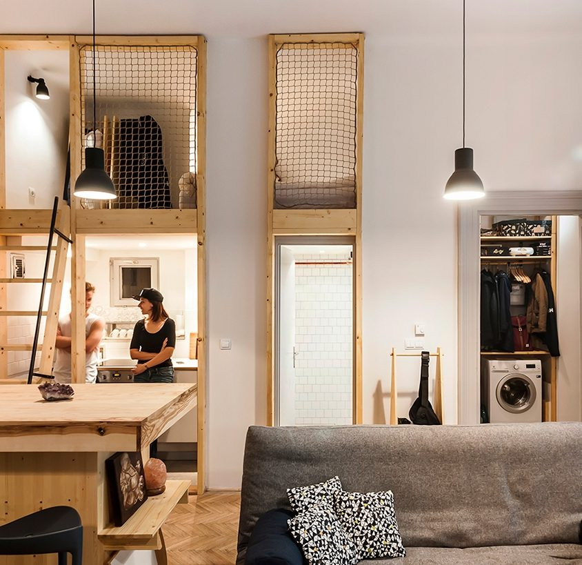 Micro departamento en Budapest 3