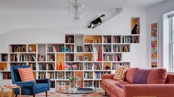 Para amantes de libros y gatos 4