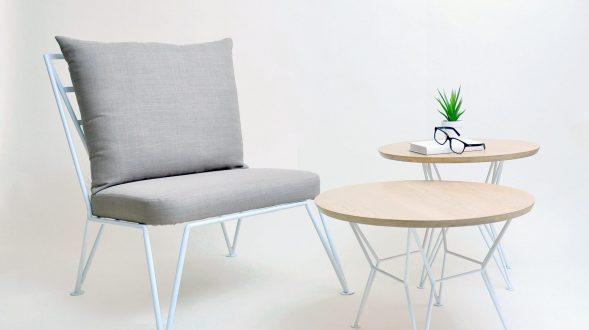 Sillón + Mesas Volt