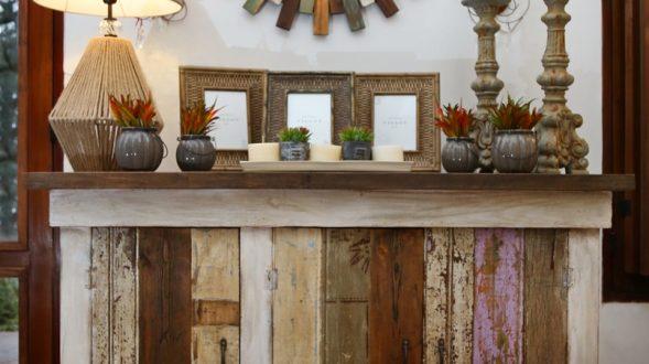 Mueble rústico de madera 26