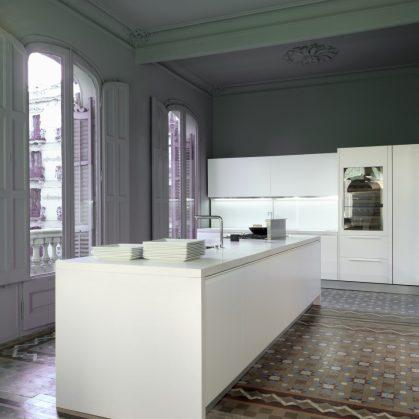 Tendencia en cocinas blancas 5