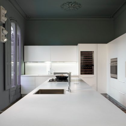 Tendencia en cocinas blancas 8