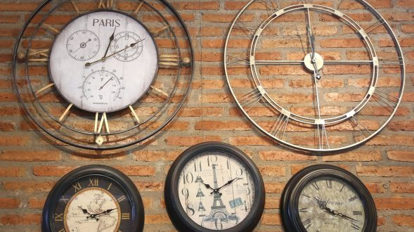 Relojes decorativos de pared 46