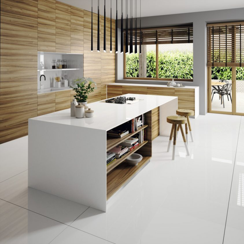 Tendencia en cocinas blancas 1