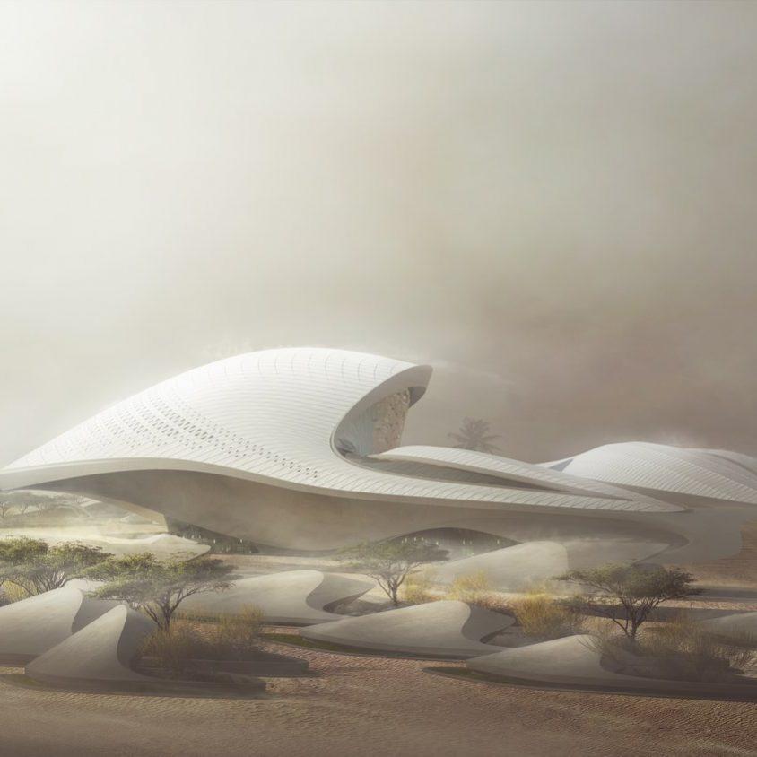 Bee'ah Headquarters Inspirada en las dunas 3