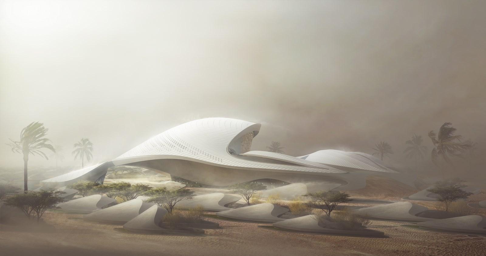 Bee'ah Headquarters Inspirada en las dunas 8