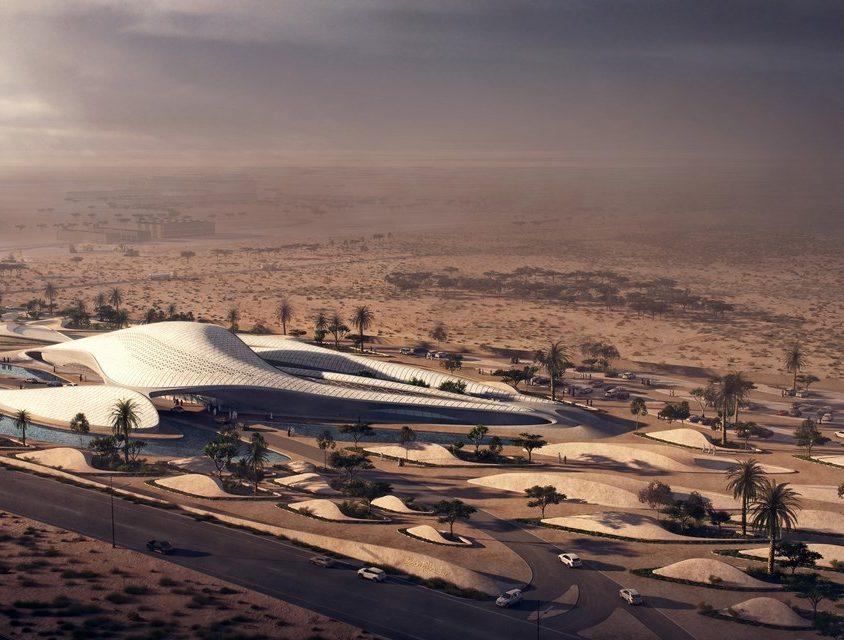 Bee'ah Headquarters Inspirada en las dunas 2
