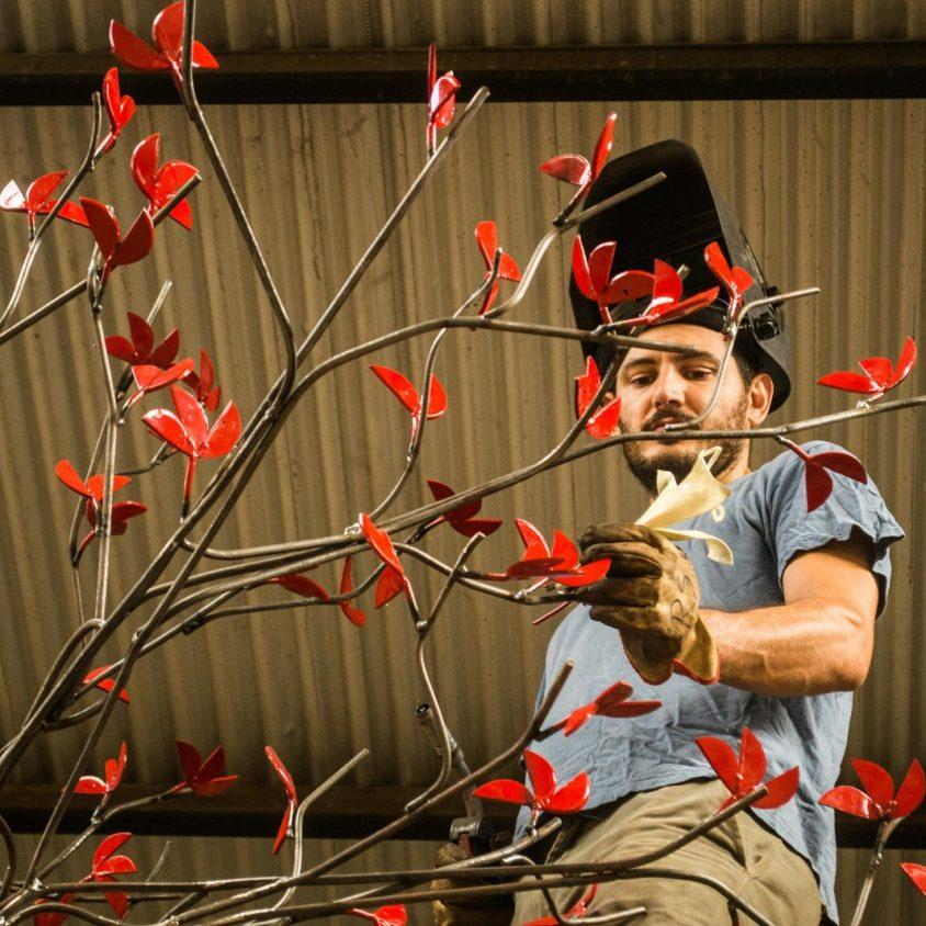 El escultor Pablo Salvador Rocha debuta en Córdoba 2