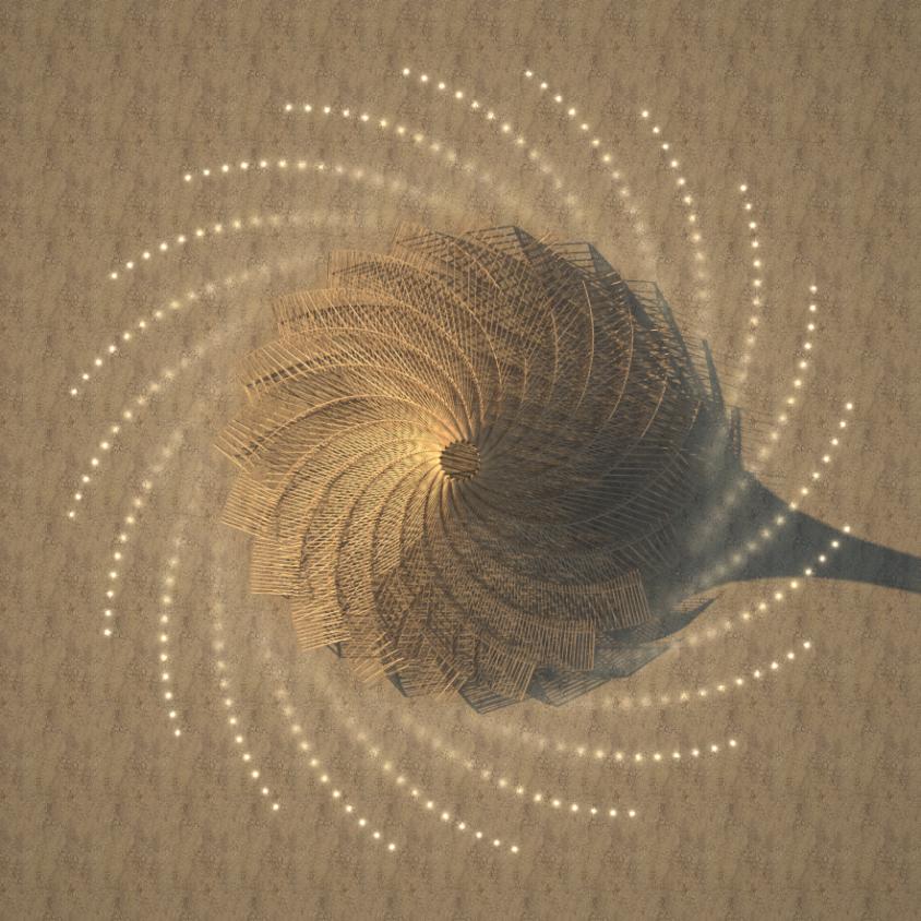 Galaxia para Burning Man 1