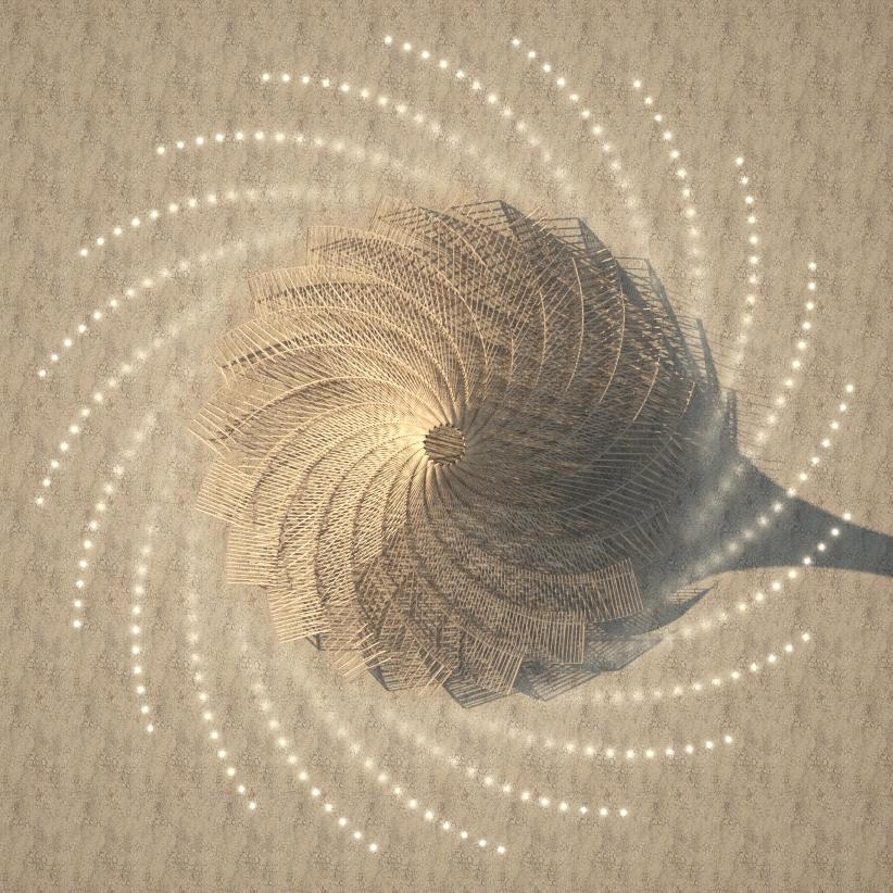 Galaxia para Burning Man 2