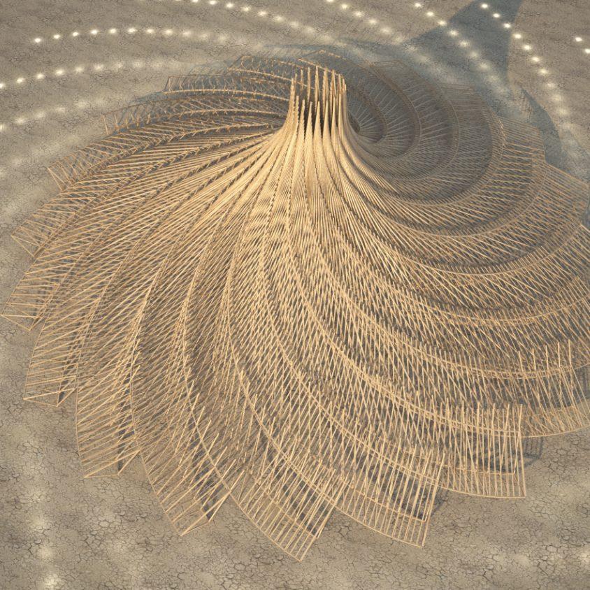 Galaxia para Burning Man 3