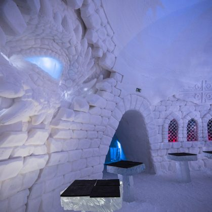 "Hotel del Hielo de ""Game Of Thrones"" 3"
