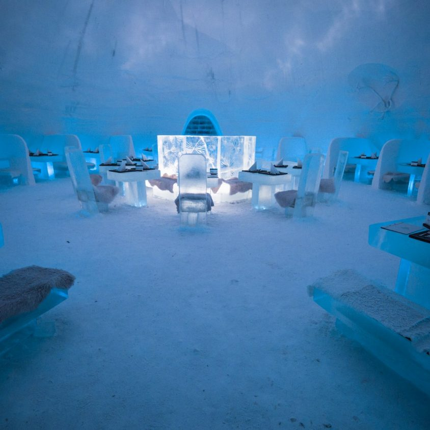 "Hotel del Hielo de ""Game Of Thrones"" 8"
