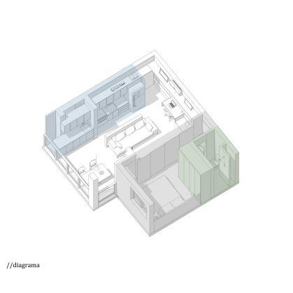 Microdepartamento Cazo 12