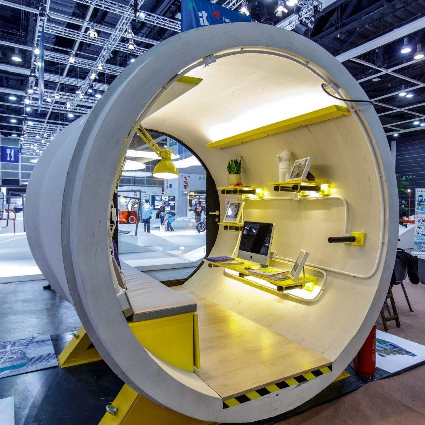 """Microdepartamentos """"tubo"""" en Japon 5"""