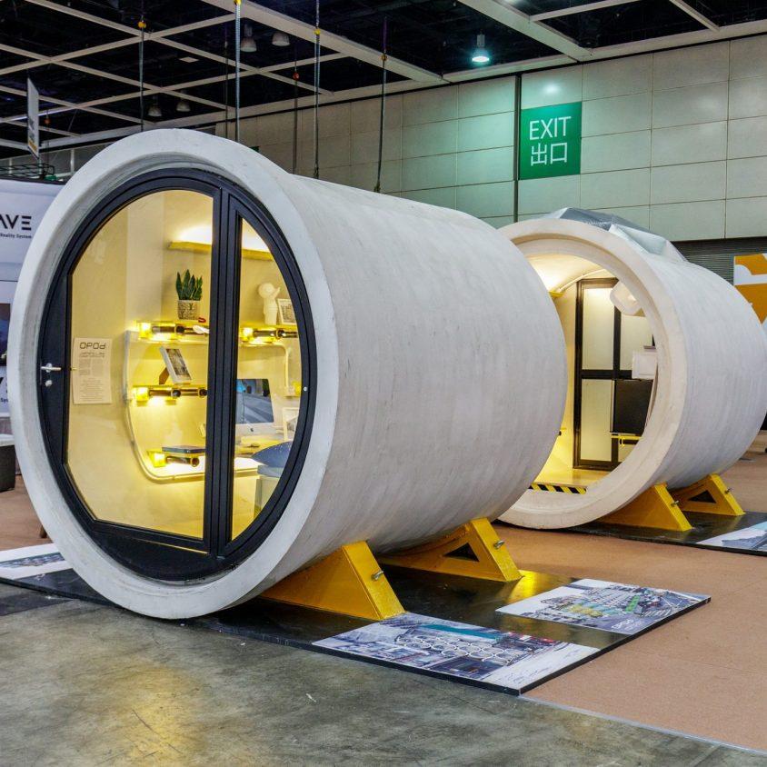"""Microdepartamentos """"tubo"""" en Japon 3"""