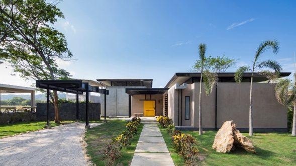 Yellow Door House 1