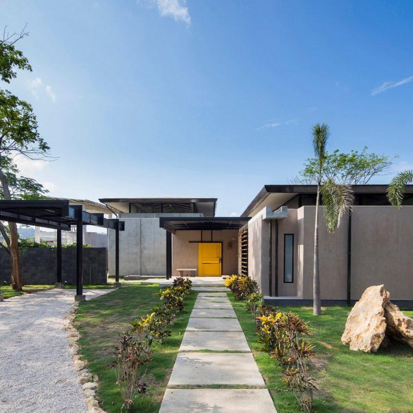 Yellow Door House 2