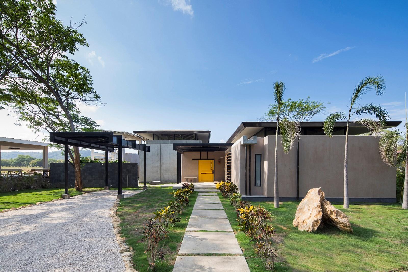 Yellow Door House 21
