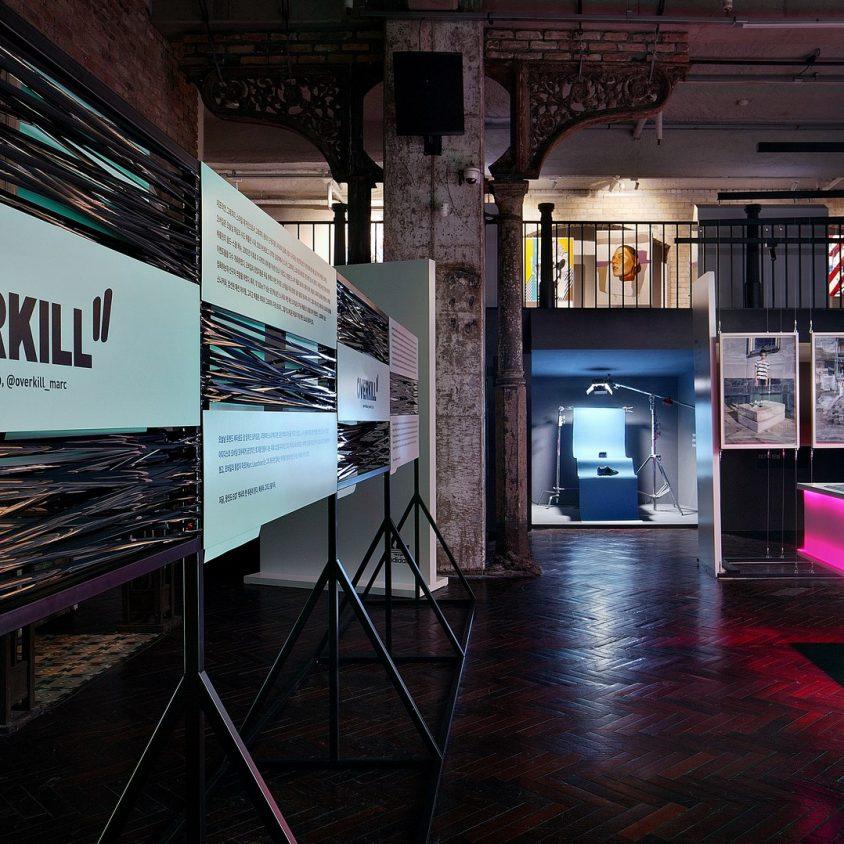 Exhibición SNKR y tienda Pop Up de Adidas 9
