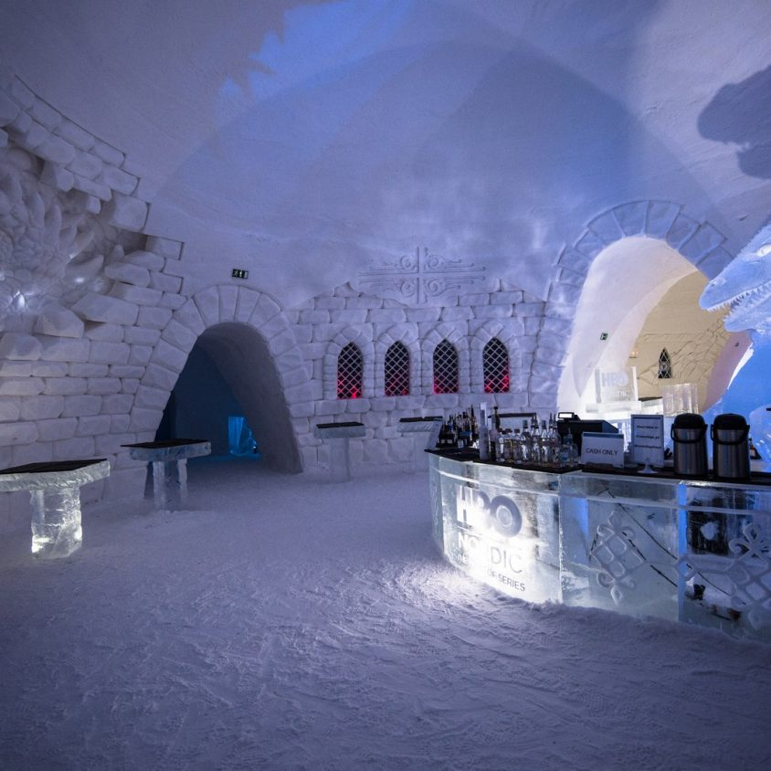 "Hotel del Hielo de ""Game Of Thrones"" 1"