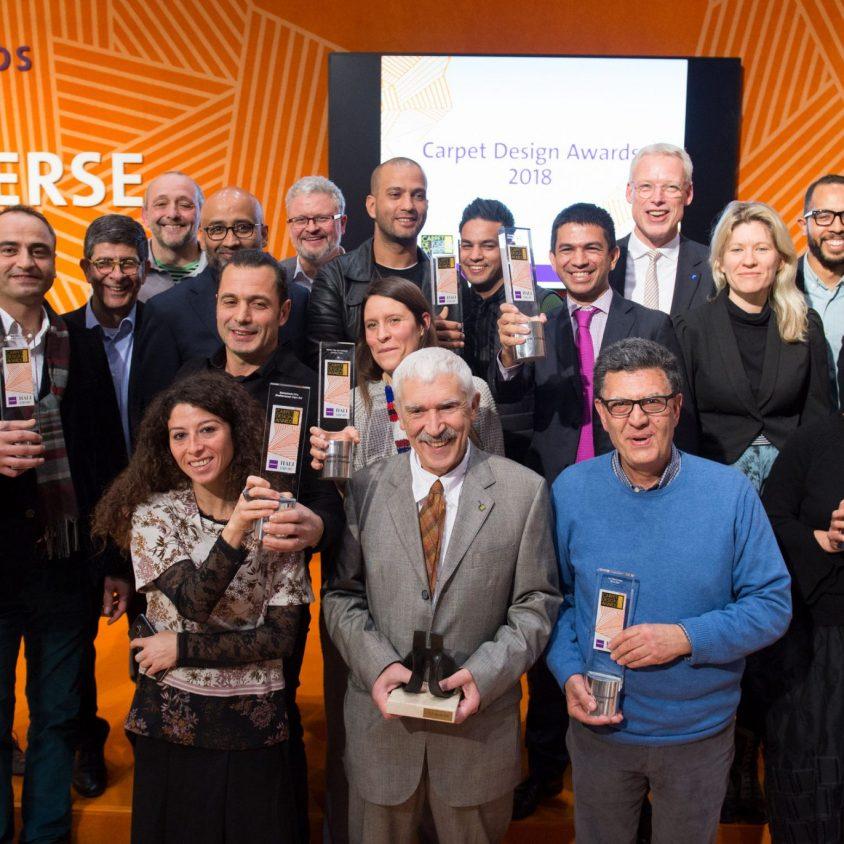 Ganadores Carpet Design Award DOMOTEX2018 3
