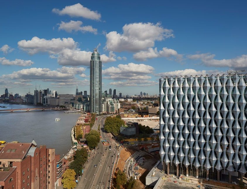 Nueva Embajada de Estados Unidos en Londres 1