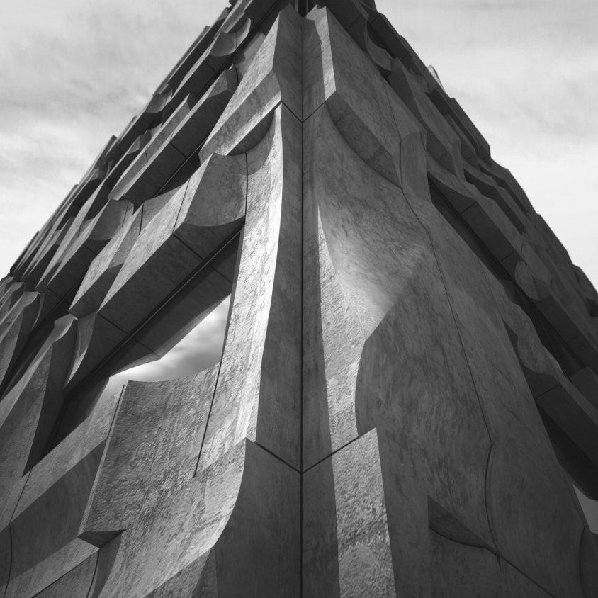 Edificio de hormigón prefabricado 3