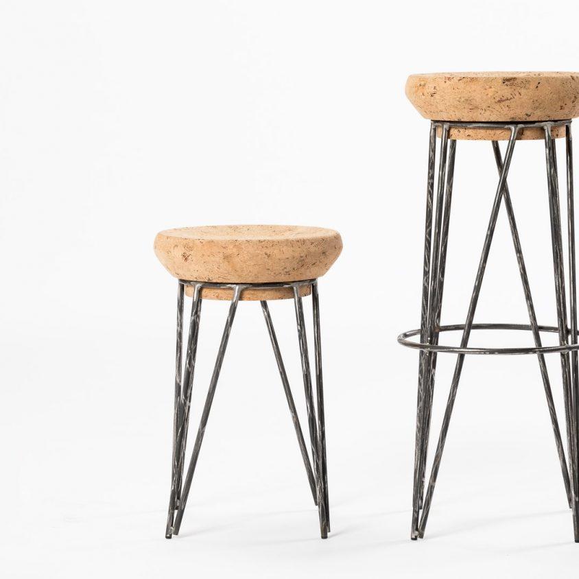 Muebles de diseño con corcho 1