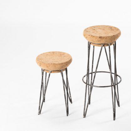 Muebles de diseño con corcho 3