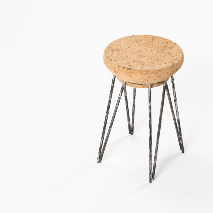 Muebles de diseño con corcho 2