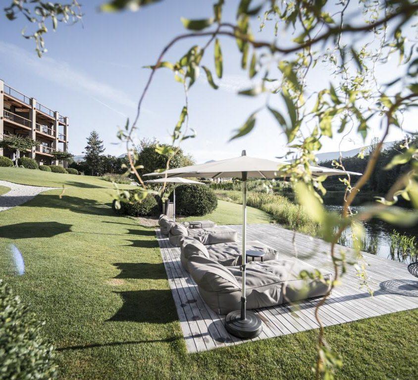 Hotel Seehof, una arquitectura de jardín 10