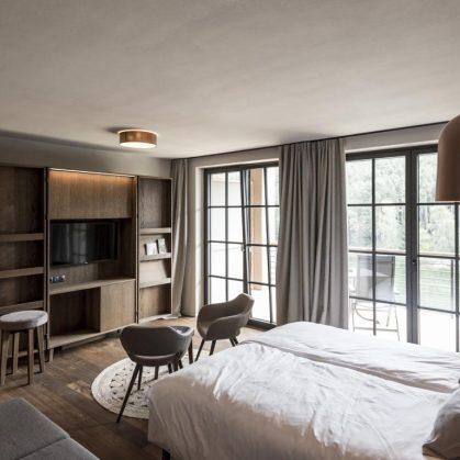 Hotel Seehof, una arquitectura de jardín 24