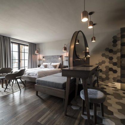 Hotel Seehof, una arquitectura de jardín 23