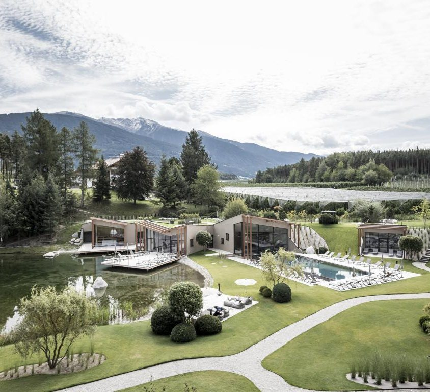 Hotel Seehof, una arquitectura de jardín 4