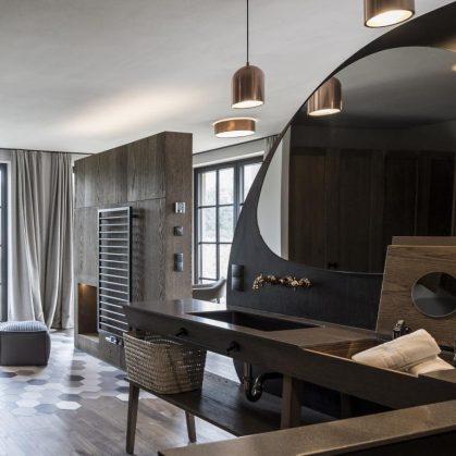 Hotel Seehof, una arquitectura de jardín 26