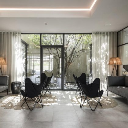 Hotel Seehof, una arquitectura de jardín 19