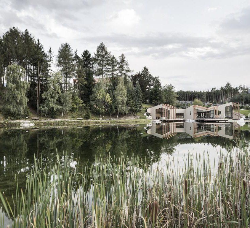 Hotel Seehof, una arquitectura de jardín 1