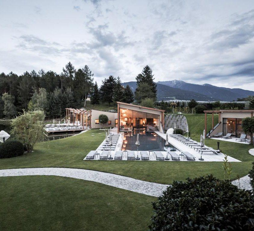 Hotel Seehof, una arquitectura de jardín 9