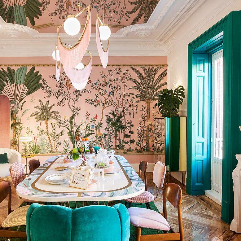 Tropical lunch en Casa Decor 1