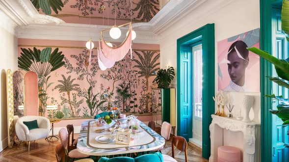 Tropical lunch en Casa Decor 25