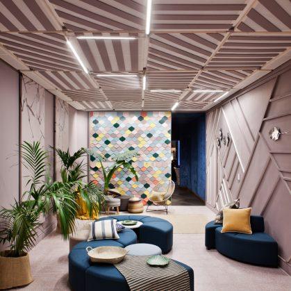 "Lobby ""Lounge Palo de Rosa"" en Casa Decor 1"