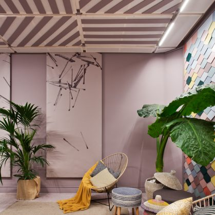 "Lobby ""Lounge Palo de Rosa"" en Casa Decor 2"