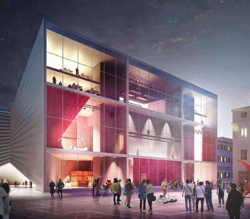 THE NEW NATIONAL THEATRE OF ALBANIA 1