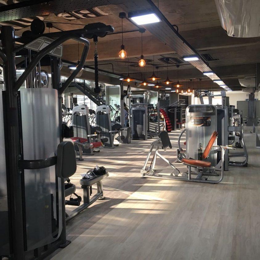 Pisos PVC Wud en el Jockey Gym 4