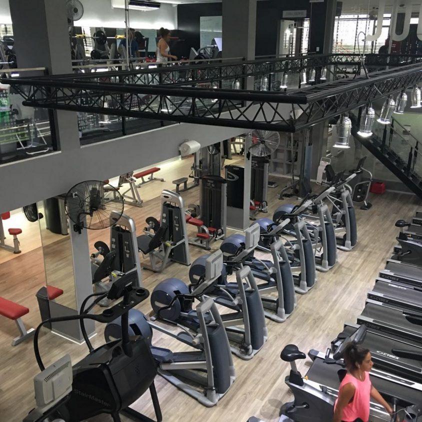 Pisos PVC Wud en el Jockey Gym 3